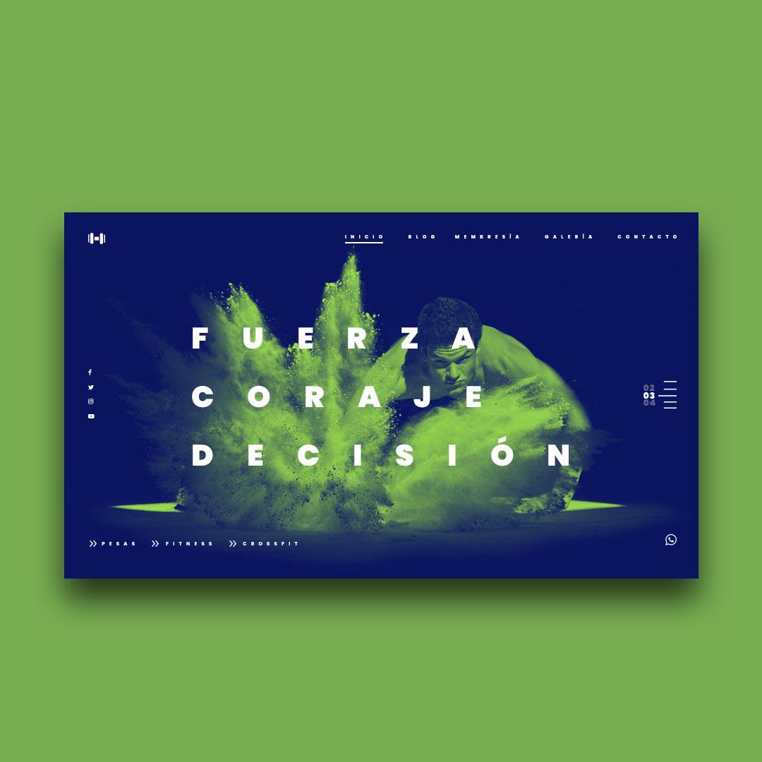 diseñador de páginas web wordpress freelance ecuador Franklin Sandoval portfolio 3