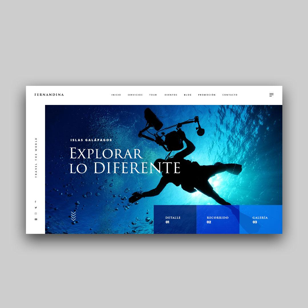 diseñador de páginas web wordpress freelance ecuador Franklin Sandoval portfolio 6