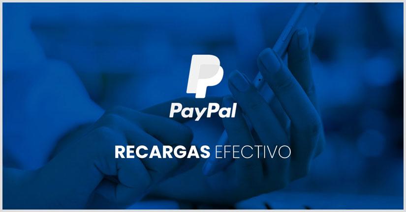 Como recargar saldo PayPal con efectivo sin tarjeta de credito