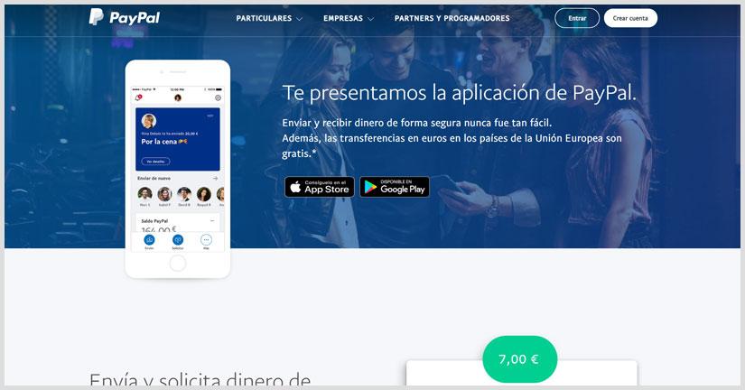 Como recargar saldo PayPal desde apps ecuador